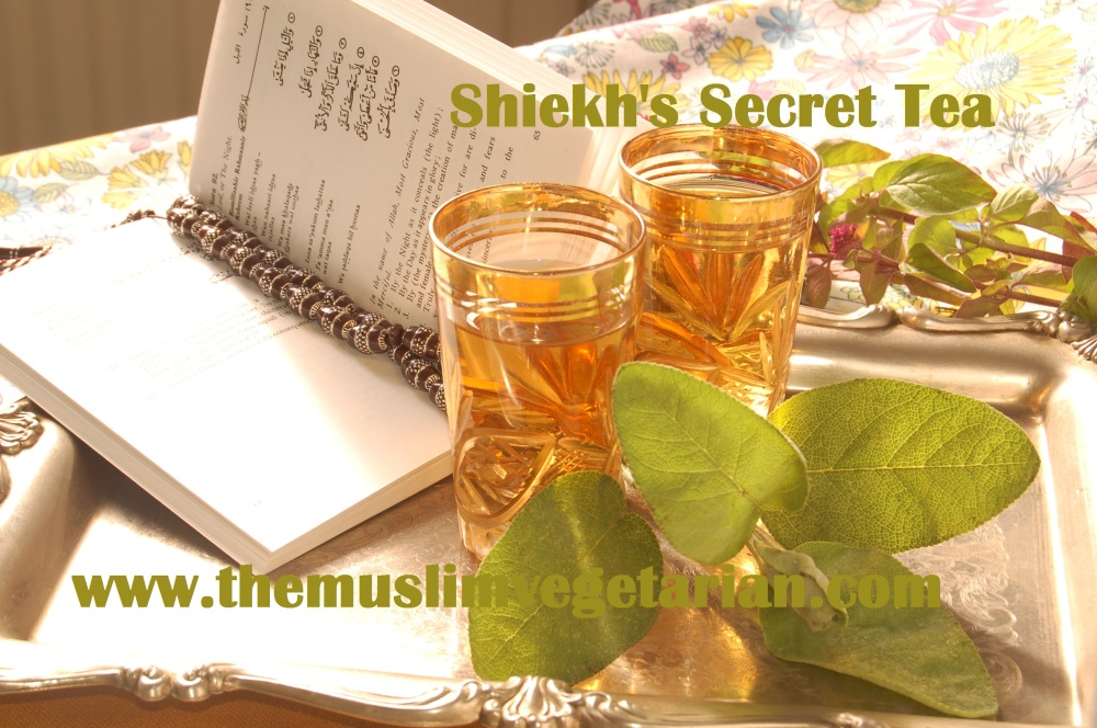 Sage...Sheikh's Secret Tea