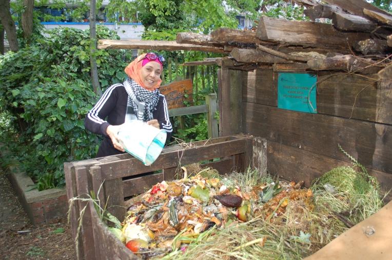 Meanwhile Gardens Compost Heap