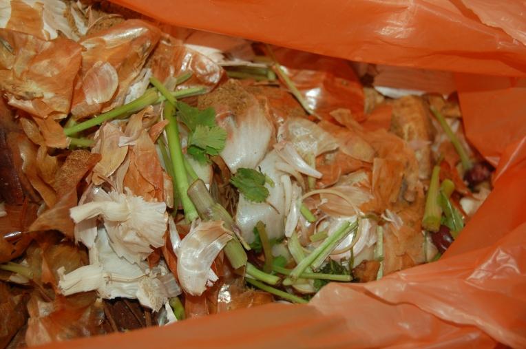 Peelings in a Bag