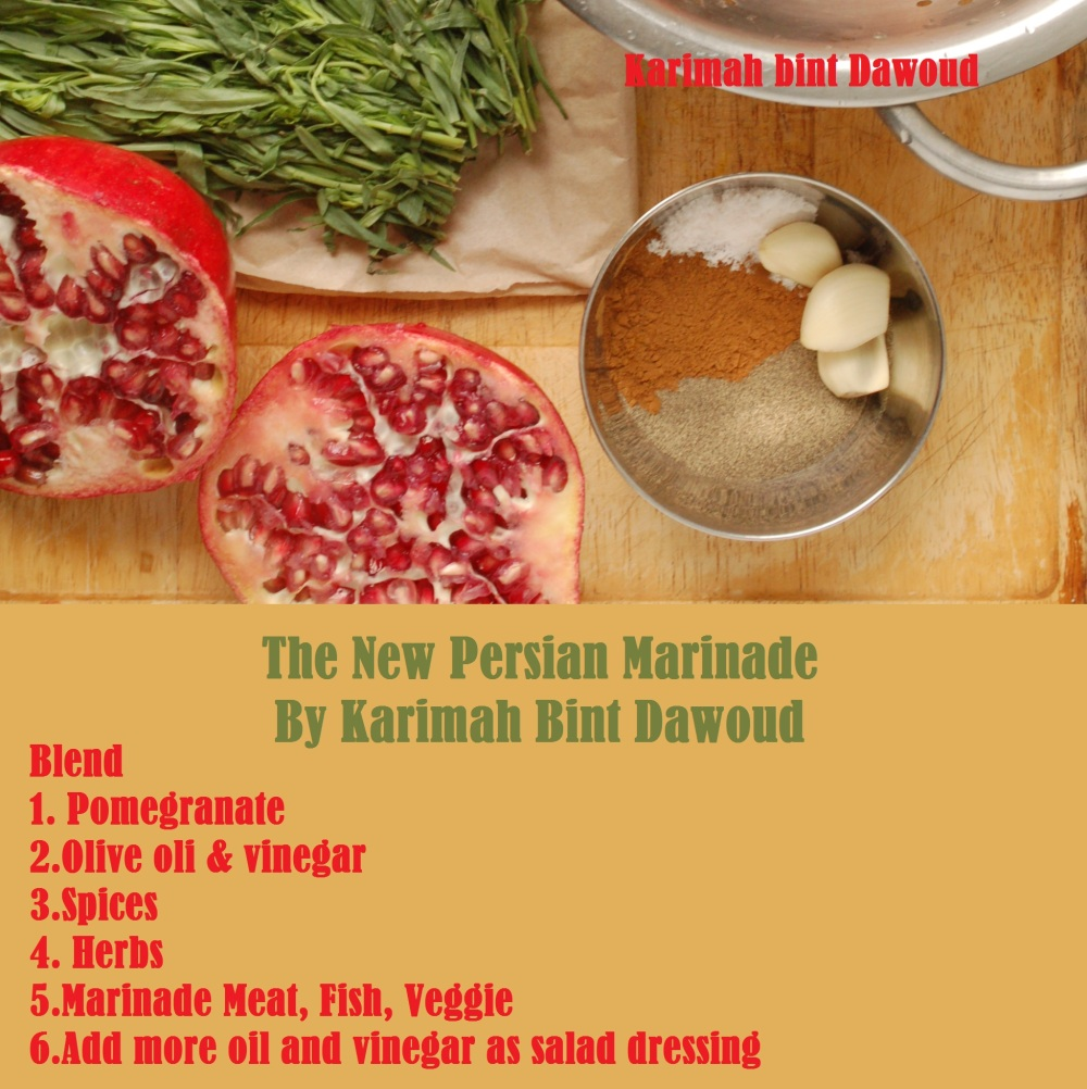Persian Marinade Ingredients