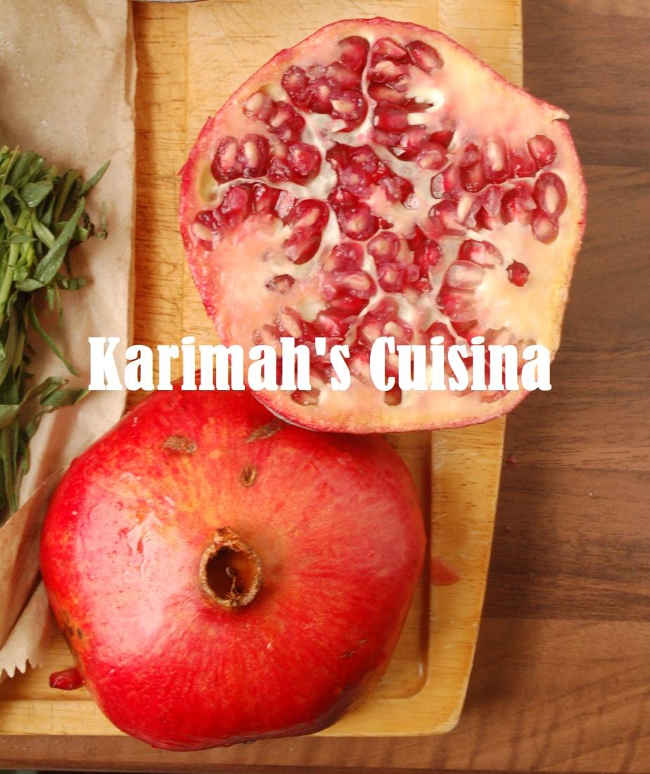 Persian Pomegranates