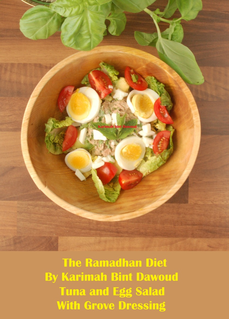 Ramadan iftar juicy egg and tuna salad for Tuna fish salad recipe with egg