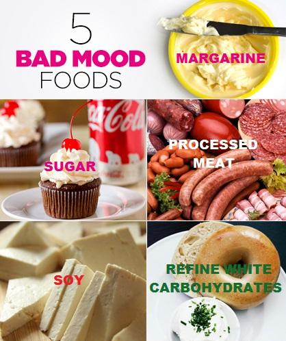 BAD MOOD FOOD