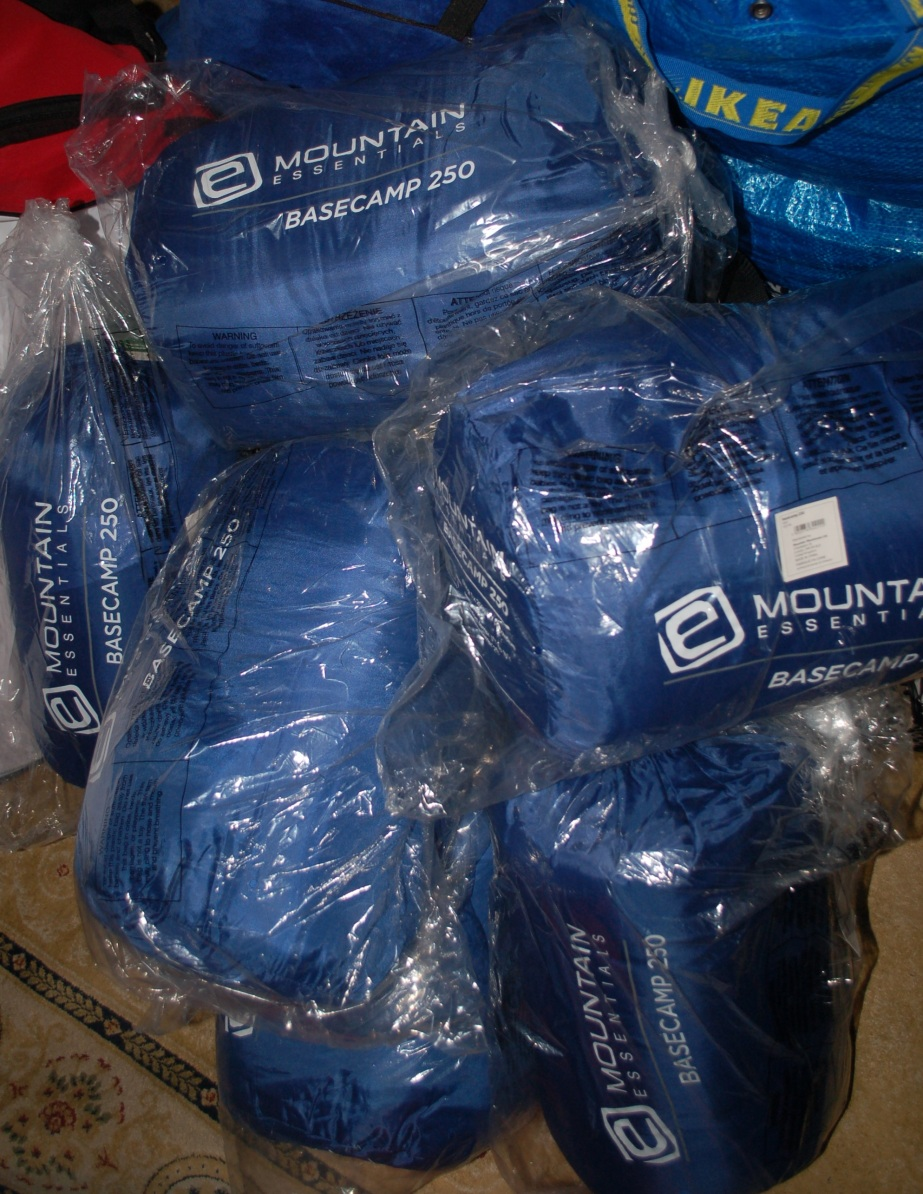 sleeping bags muhammd jamshed